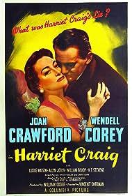 Joan Crawford and Wendell Corey in Harriet Craig (1950)