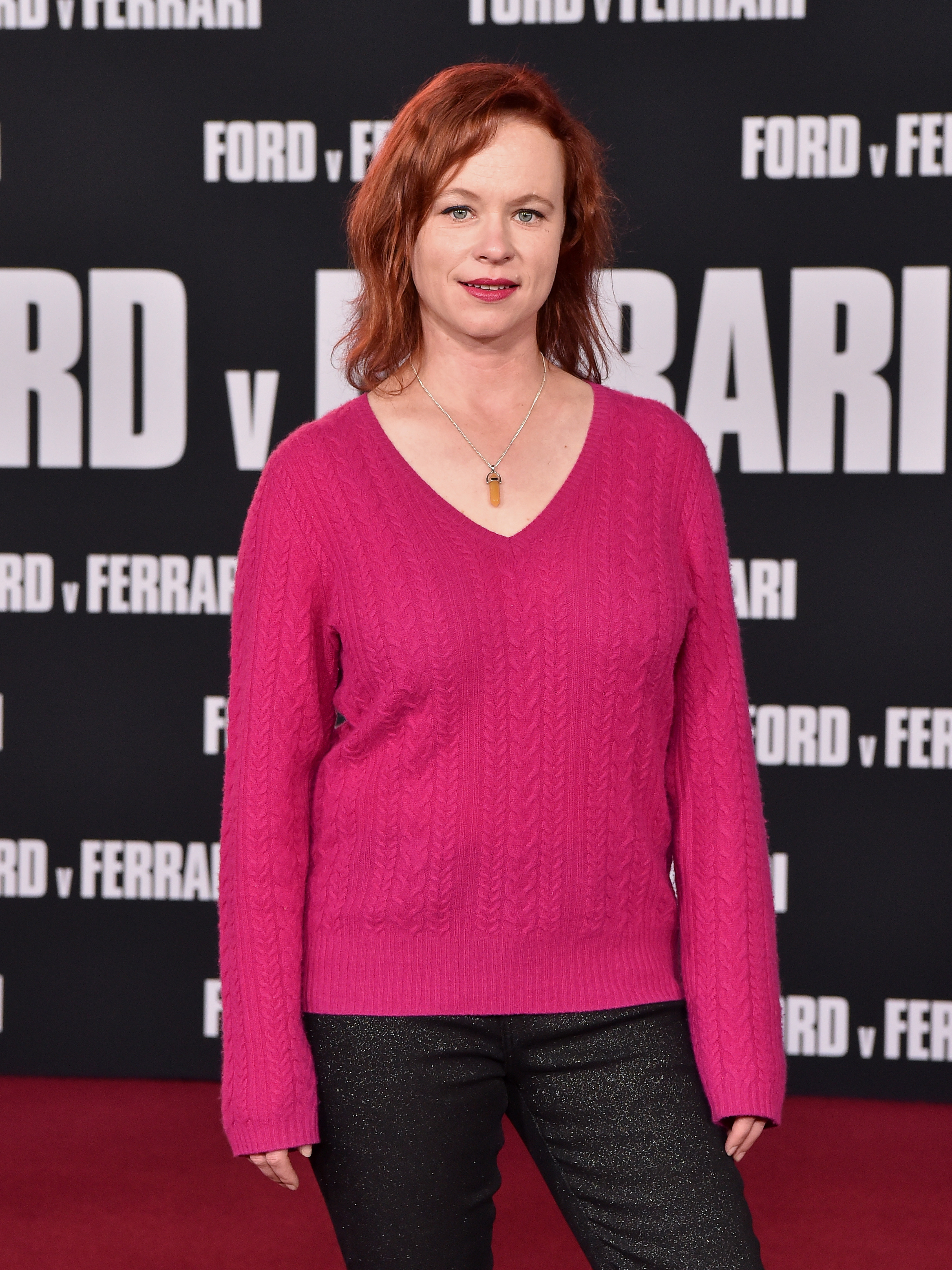 Thora Birch at an event for Ford v Ferrari (2019)