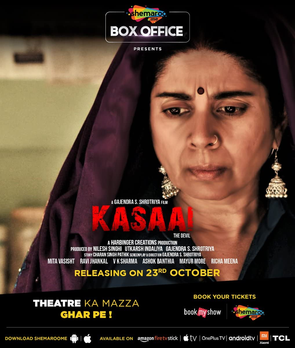 Kasaai (2020) Hindi Movie 480p HDRip x264 300MB