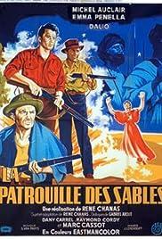 La patrouille des sables Poster