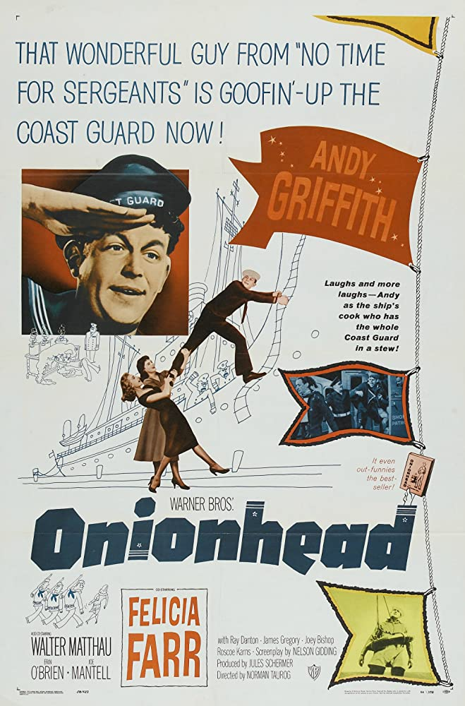 Felicia Farr, Andy Griffith, and Erin O'Brien in Onionhead (1958)