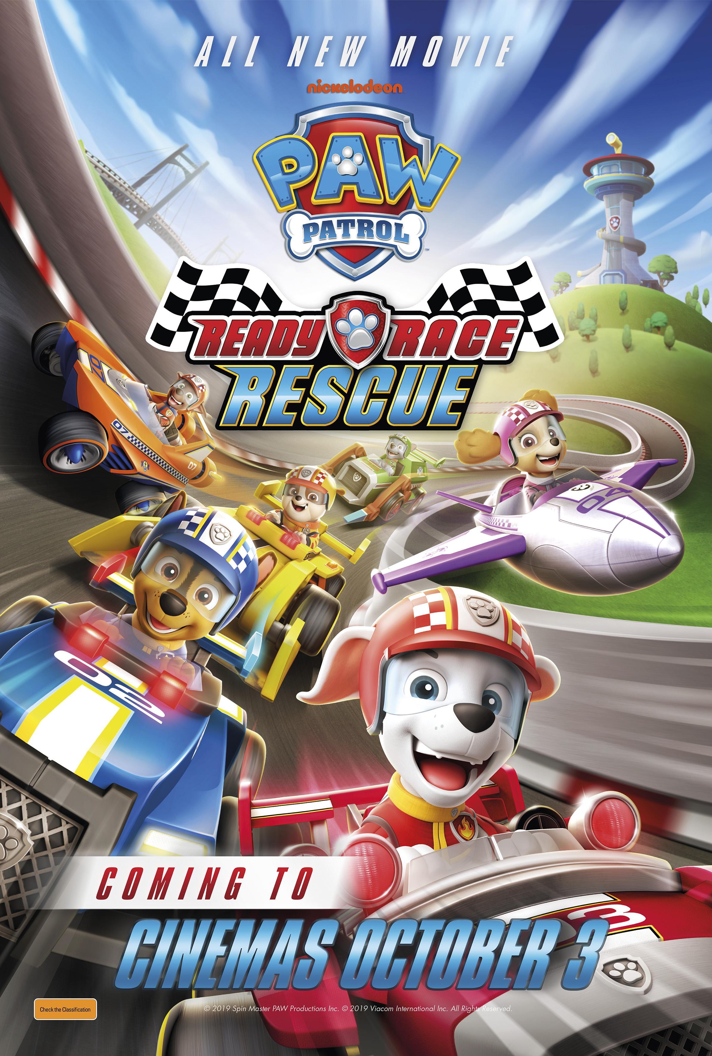 ŠUNYČIAI PATRULIAI. PASIRUOŠKITE, LENKTYNIAUKITE, GELBĖKITE / Paw Patrol: Ready, Race, Rescue!