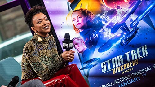 "BUILD: Sonequa Marin-Green on the Relationships in ""Star Trek: Discovery"""