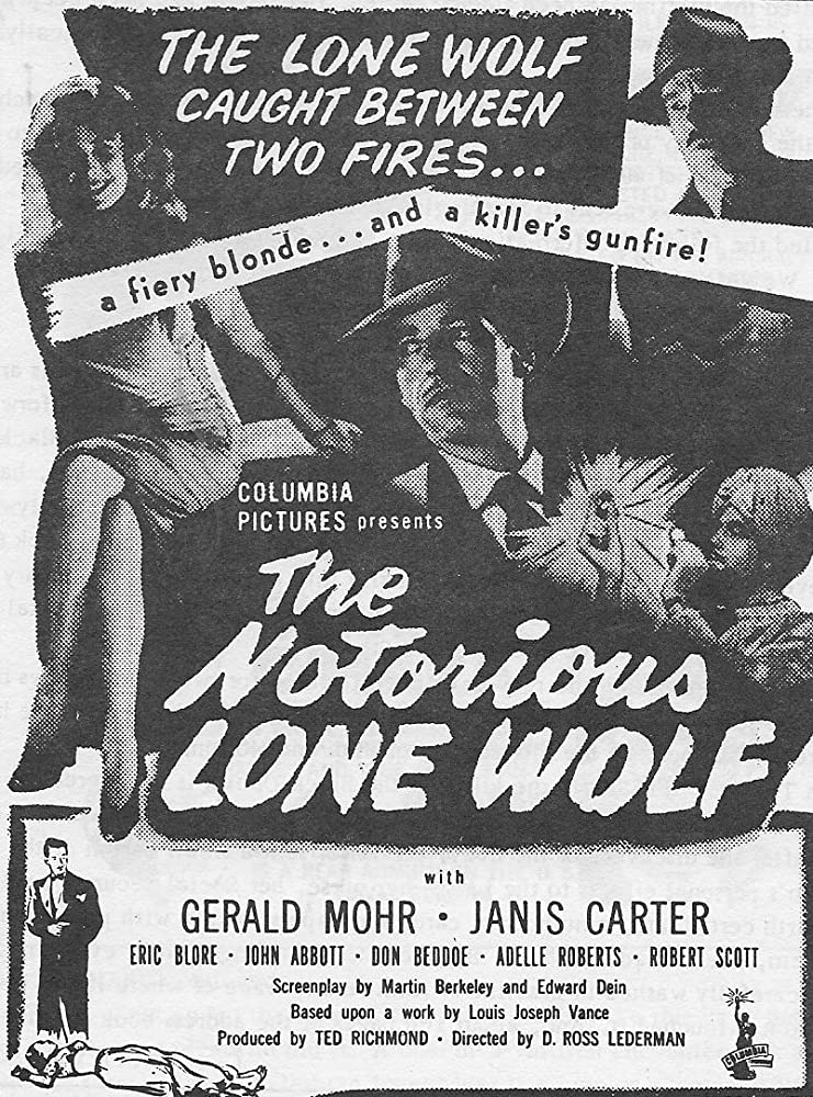 John Abbott, Janis Carter, and Gerald Mohr in The Notorious Lone Wolf (1946)