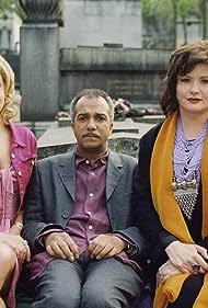 Catherine Jacob, Pascal Légitimus, and Elise Tielrooy in Joe Pollox et les mauvais esprits (2004)