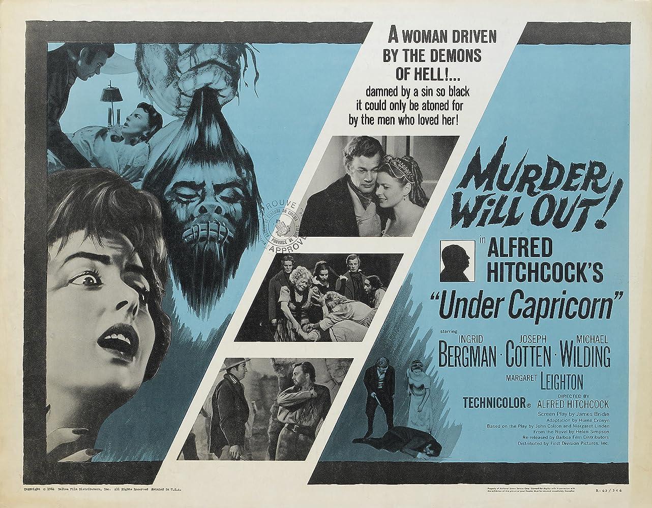 Ingrid Bergman and Joseph Cotten in Under Capricorn (1949)