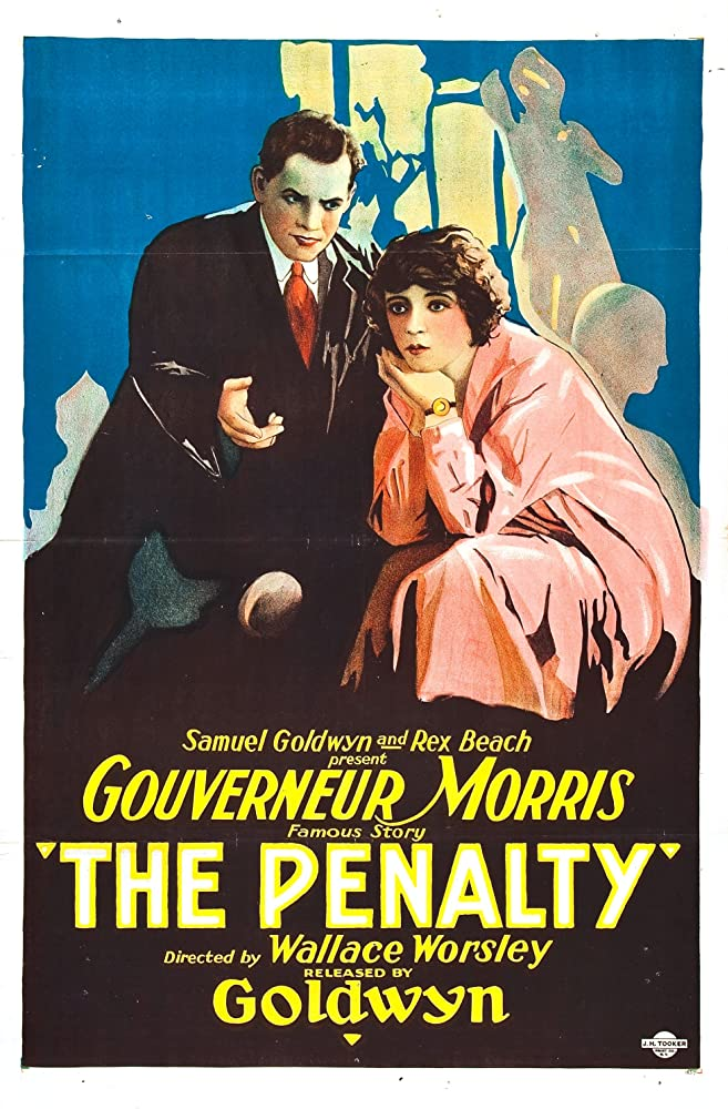 Claire Adams and Lon Chaney in The Penalty (1920)
