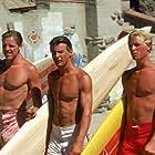 Gary Busey, William Katt, and Jan-Michael Vincent in Big Wednesday (1978)