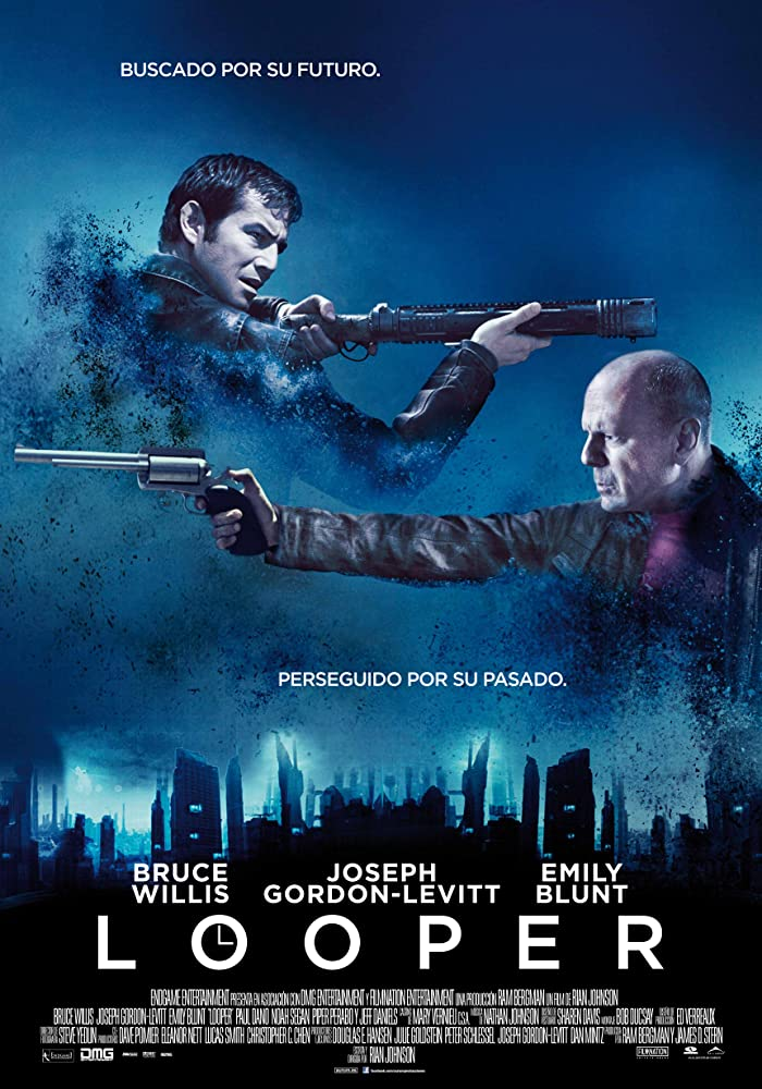 Looper (2012) Dual Audio Hindi 300MB BluRay 480p ESubs