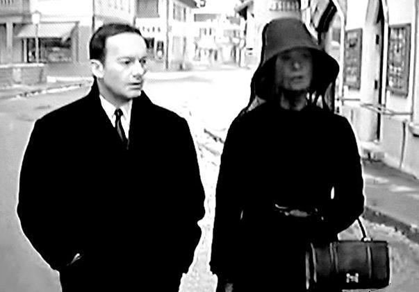Michèle Morgan in Les yeux cernés (1964)
