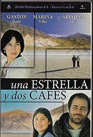 Una estrella y dos cafés Poster