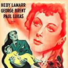 Hedy Lamarr, George Brent, and Michael Orr in Experiment Perilous (1944)