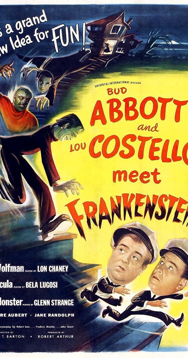 Subtitle of Abbott and Costello Meet Frankenstein