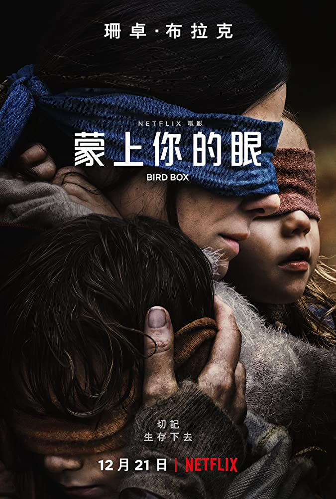 BirdBox (2018) 720p HDRip Hindi Sub