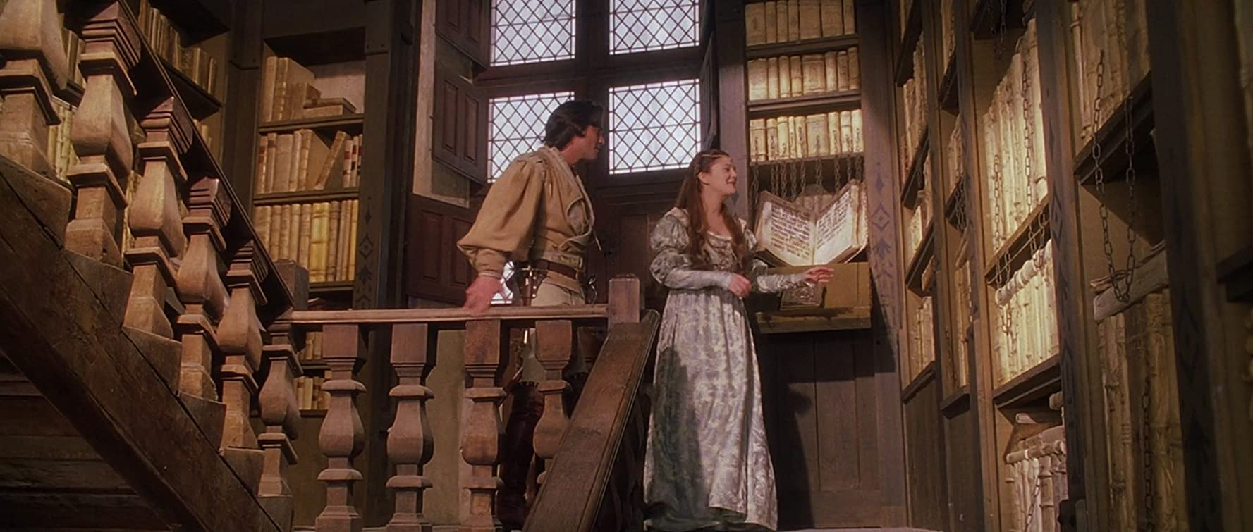 Drew Barrymore and Dougray Scott in EverAfter (1998)