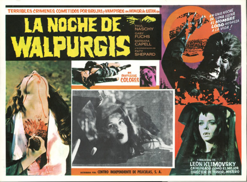 Paul Naschy and Patty Shepard in La noche de Walpurgis (1971)