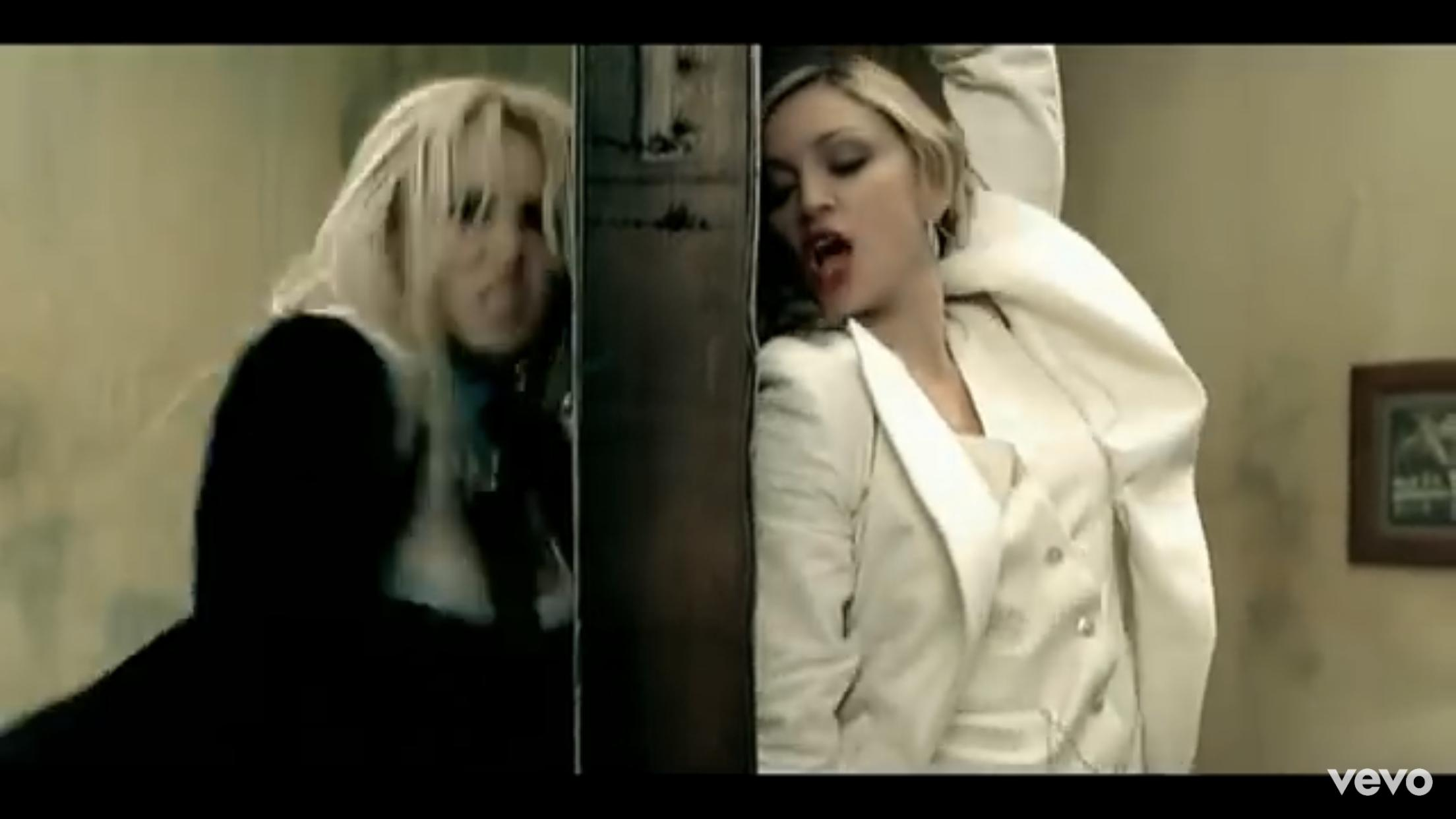 Britney Spears Feat. Madonna: Me Against the Music (2003)