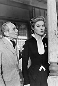 Greer Garson and Florenz Ames in Telephone Time (1956)