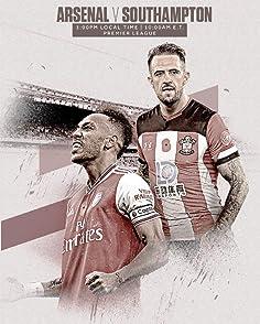 Arsenal vs Southamptonฟุตบอล พรีเมียร์ลีก อังกฤษ ระหว่าง วันเสาร์ที่ 23 พฤศจิกายน 2562