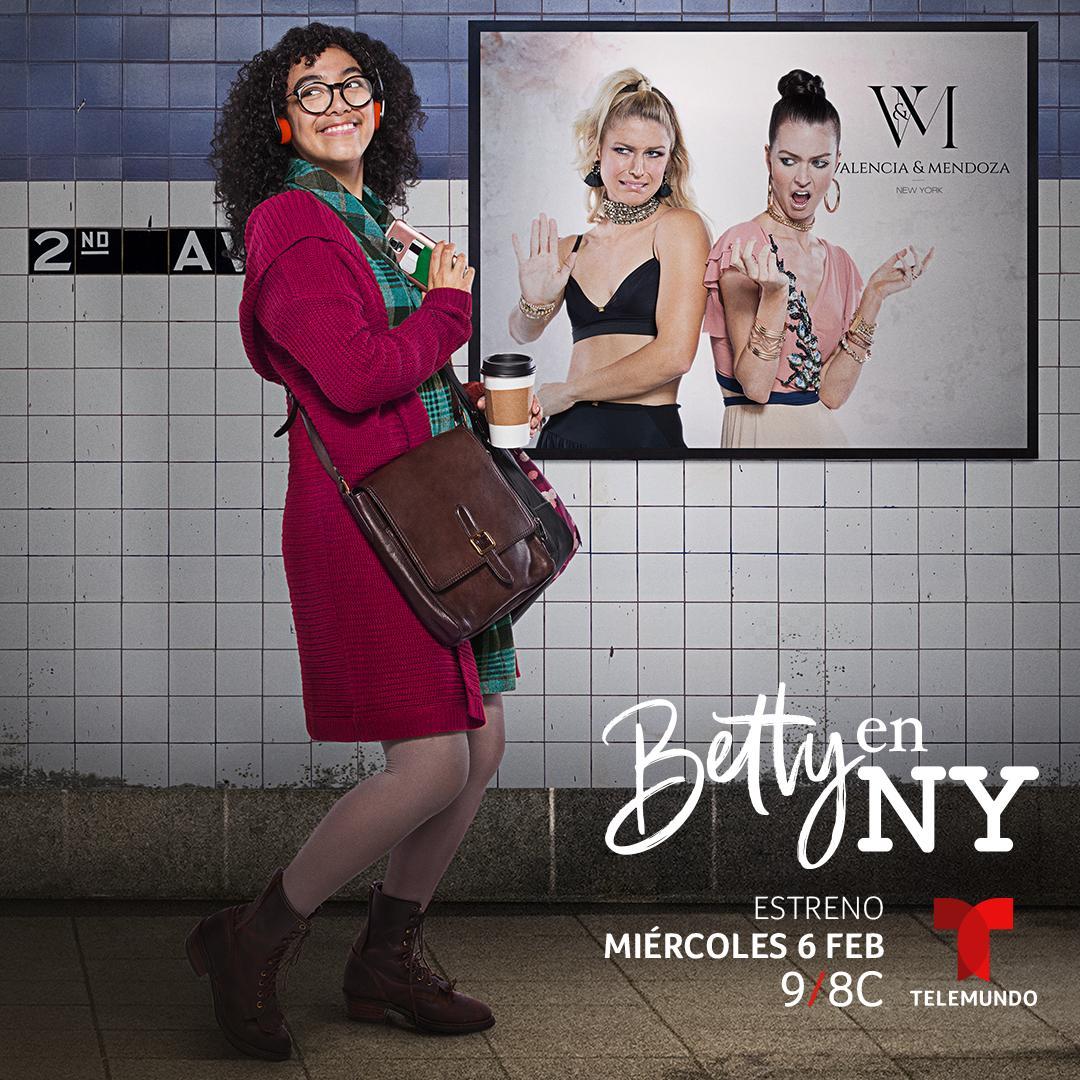 Bjaurusis ančiukas Niujorke (1 sezonas) / Betty en NY