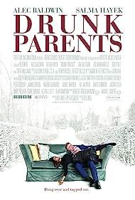 Salma Hayek and Alec Baldwin in Drunk Parents (2019)