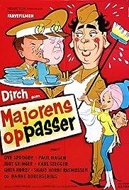 Majorens oppasser Poster