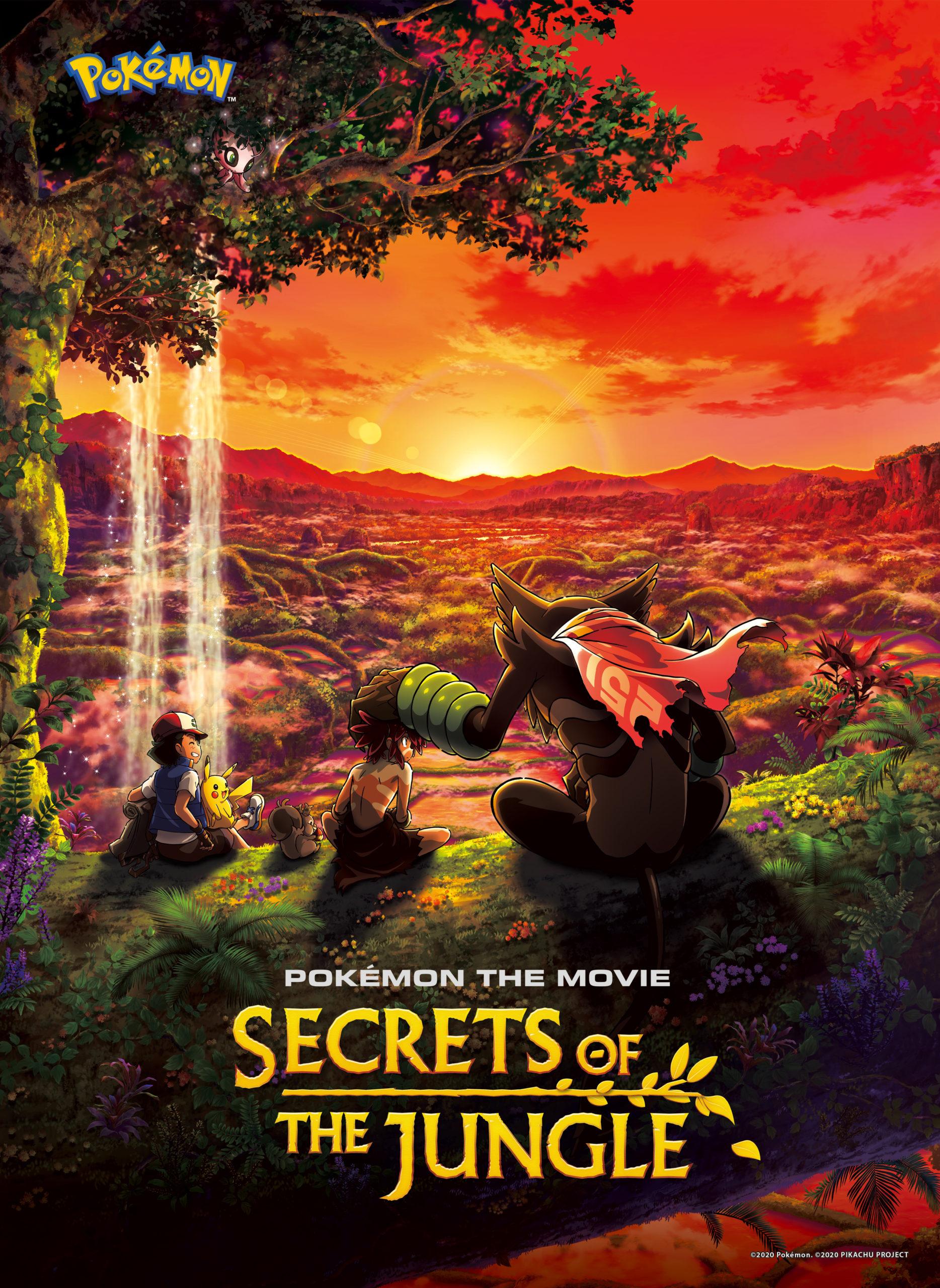 Pokémon the Movie: Secrets of the Jungle (2020) Hindi Dubbed ORG 720p Netflix HDRip 900MB Download