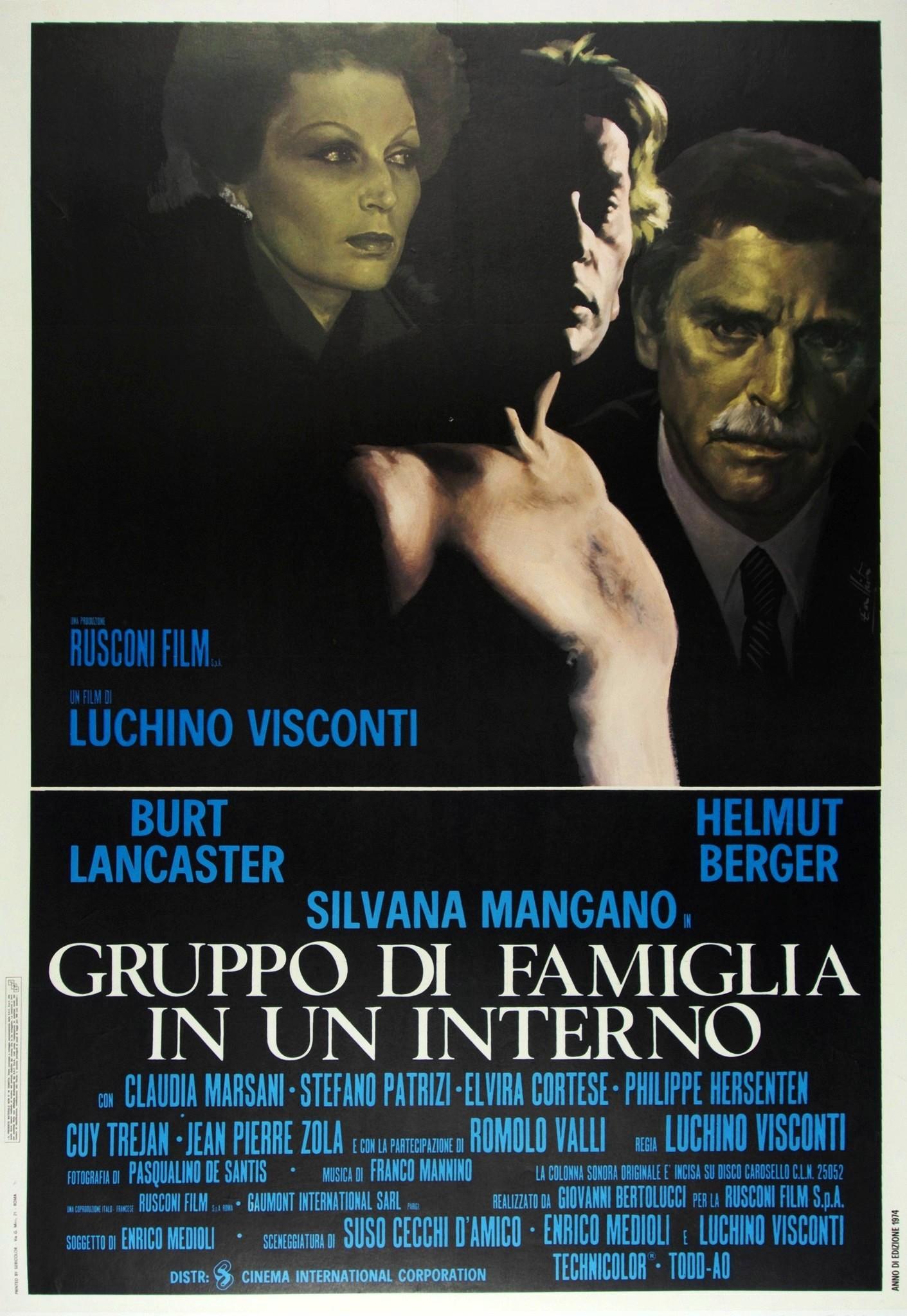 Five Reasons: Luchino Visconti's Conversation Piece ()   black is white