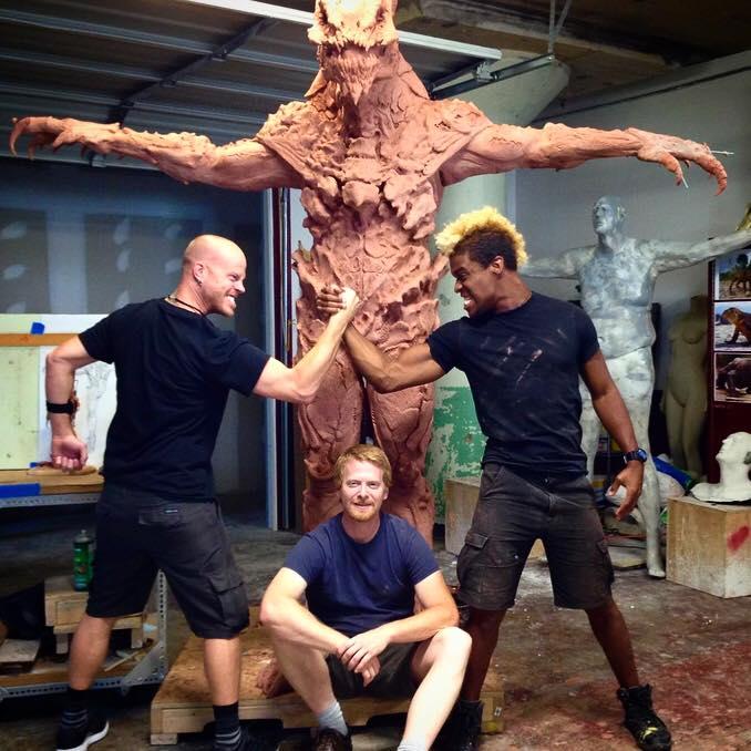 Rick, Rashaad, And Steve at Tolin FX