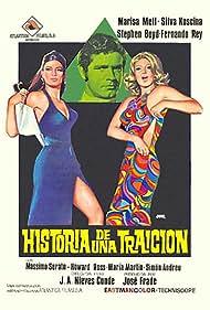 Stephen Boyd, Sylva Koscina, and Marisa Mell in Historia de una traición (1971)