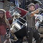 Andrew Lincoln and Danai Gurira in The Walking Dead (2010)