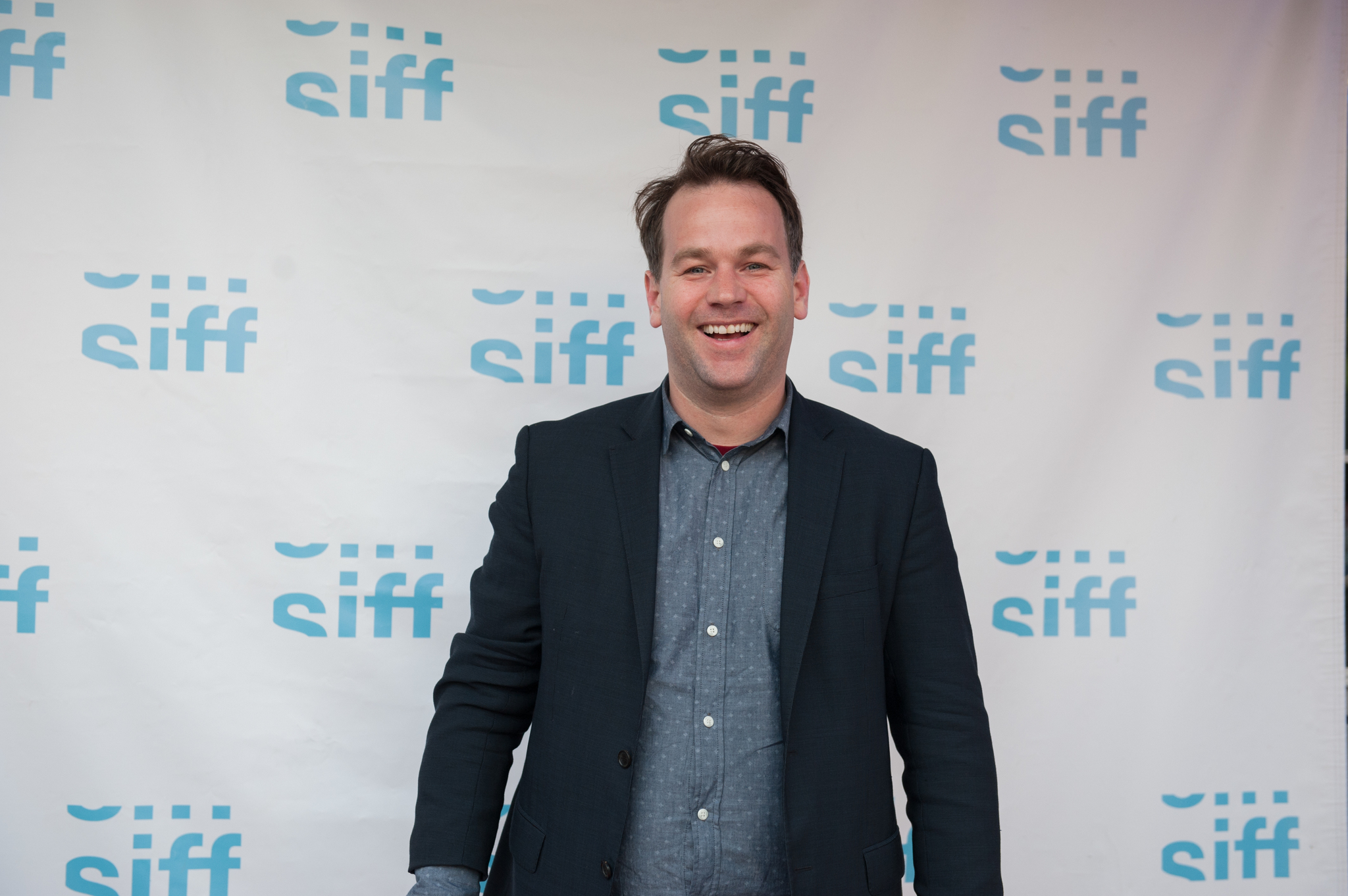 Mike Birbiglia at an event for Don't Think Twice (2016)