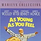Marilyn Monroe, Jean Peters, David Wayne, and Monty Woolley in As Young as You Feel (1951)