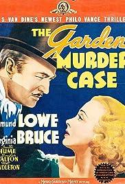 The Garden Murder Case(1936) Poster - Movie Forum, Cast, Reviews