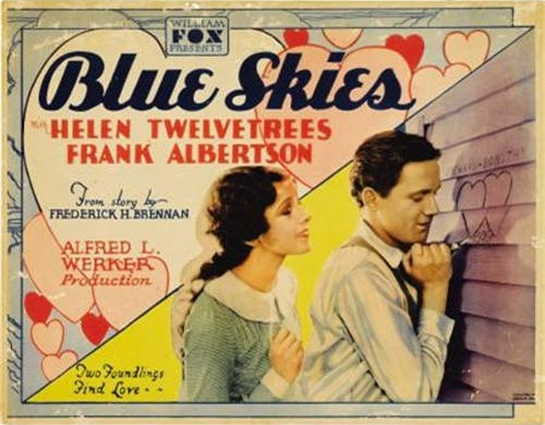 Frank Albertson and Helen Twelvetrees in Blue Skies (1929)
