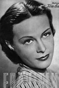Ilse Werner in Fräulein (1939)