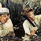 Humphrey Bogart and Katharine Hepburn in The African Queen (1951)