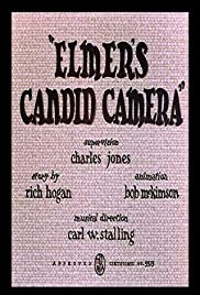Elmer's Candid Camera Poster