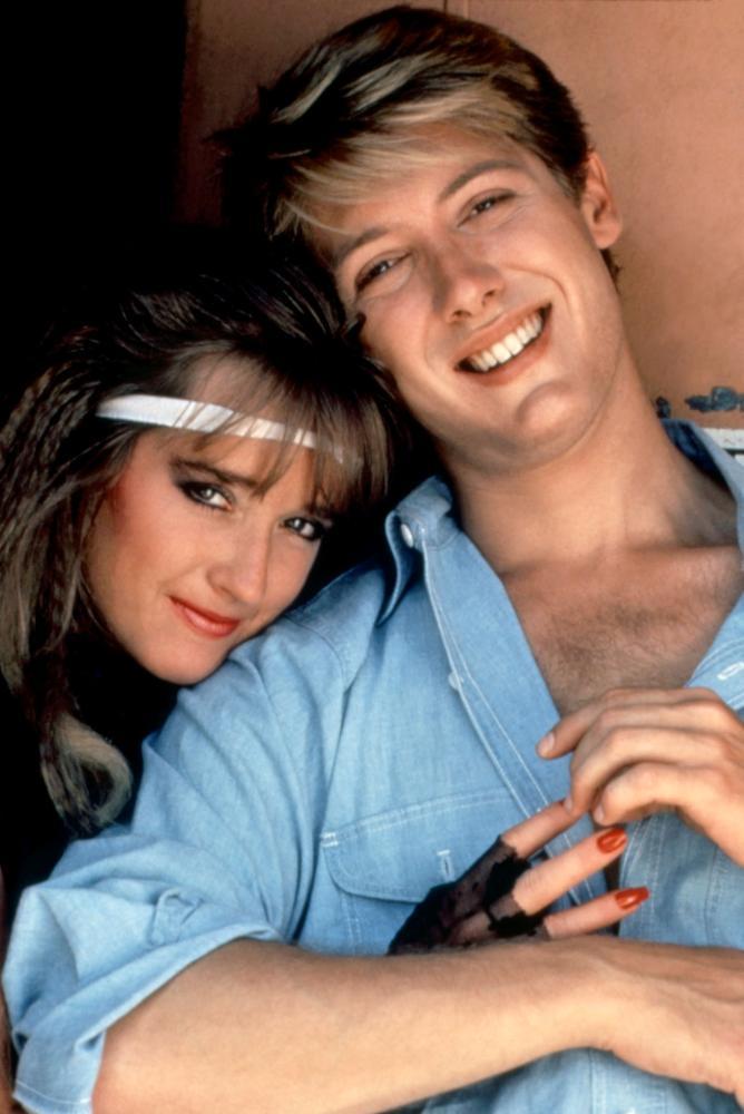 James Spader and Kim Richards in Tuff Turf (1985)