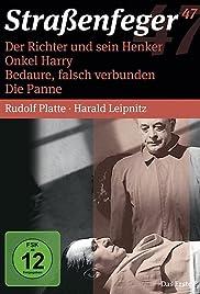 Der Richter und sein Henker Poster