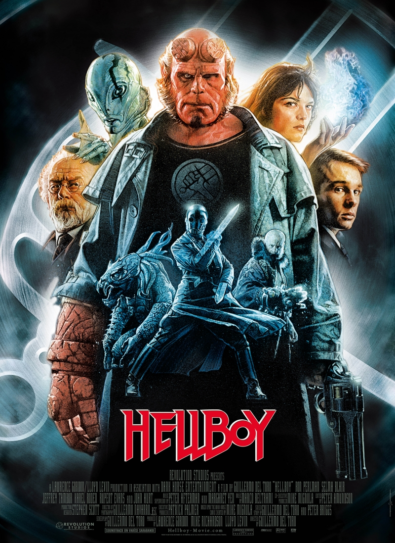 Hellboy (2004) BluRay 480p, 720p & 1080p