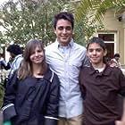 Imran Khan, Melisa Sawtelle, and Michael Sawtelle in Ek Main Aur Ekk Tu (2012)