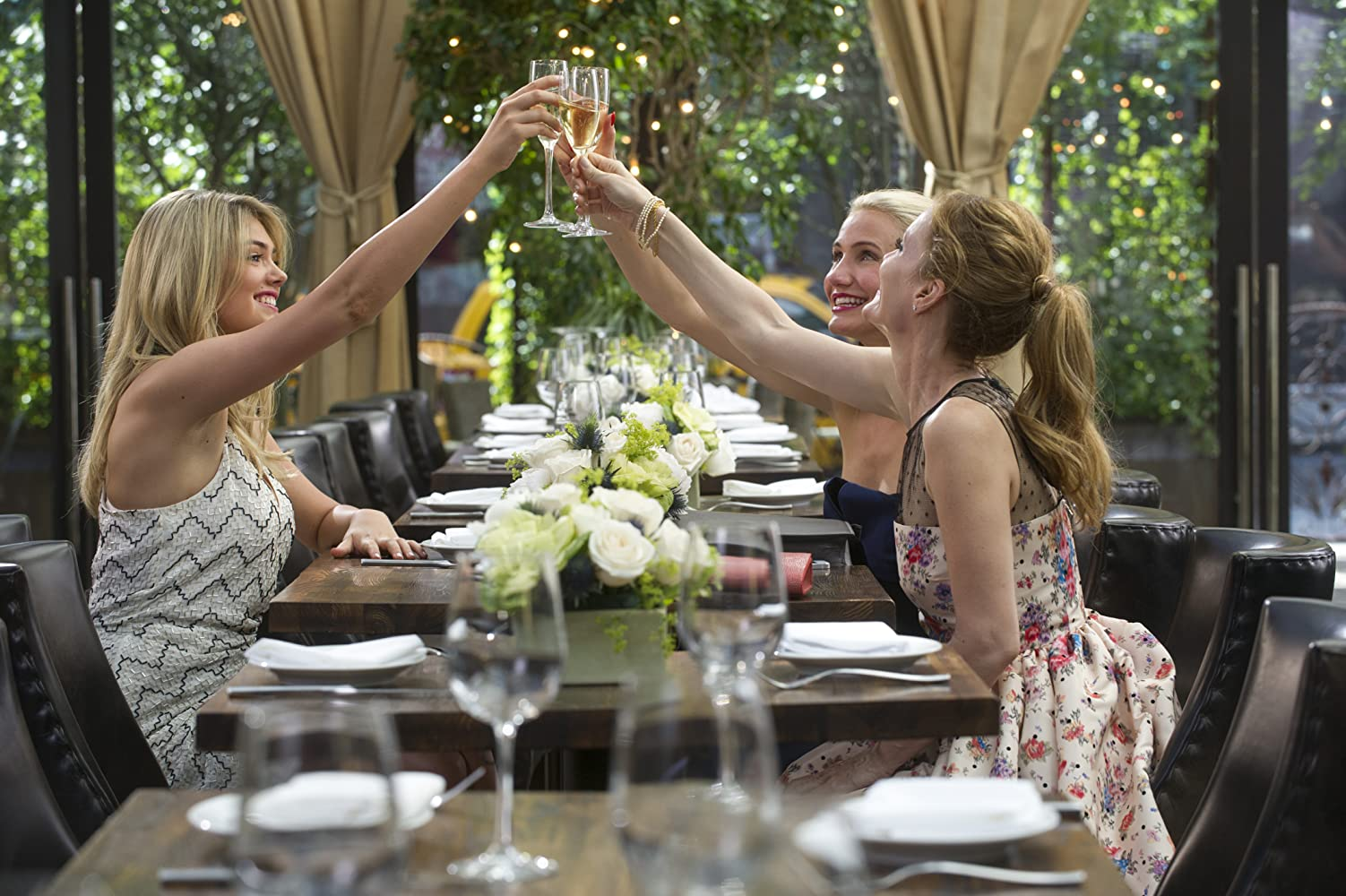 Cameron Diaz, Leslie Mann, and Kate Upton in The Other Woman (2014)