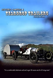 Historic Camping & Teardrop Trailers Poster