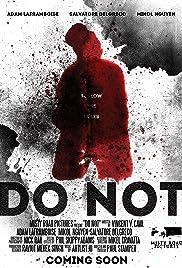 Do Not Poster