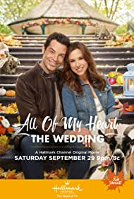 Lacey Chabert and Brennan Elliott in All of My Heart: The Wedding (2018)