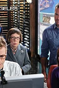 Chris O'Donnell, Linda Hunt, Barrett Foa, and Renée Felice Smith in NCIS: Los Angeles (2009)