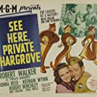 Donna Reed, Robert Walker, and Keenan Wynn in See Here, Private Hargrove (1944)