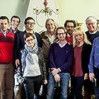 Blasco Giurato, Serge Ioan Celebidachi, Marcel Iures, James Olivier, and Adela Vrinceanu Celebidachi at an event for Octav (2017)