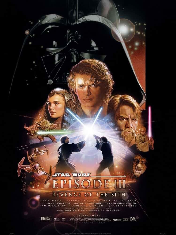 Ewan McGregor, Natalie Portman, and Hayden Christensen in Star Wars: Episode III - Revenge of the Sith (2005)